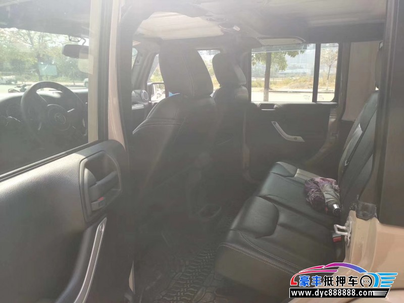 16年Jeep牧马人SUV抵押车出售