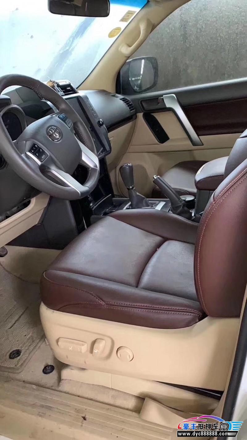 抵押车出售18年丰田普拉多SUV