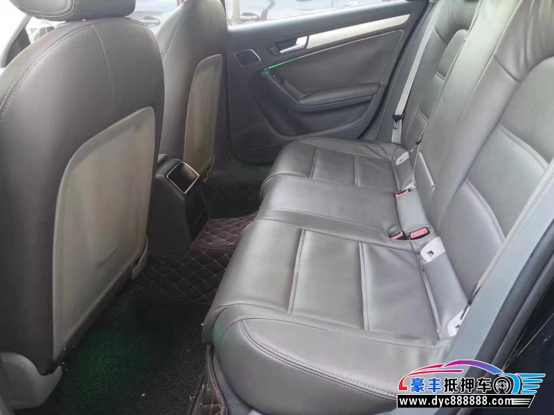 抵押车出售13年奥迪A4L轿车