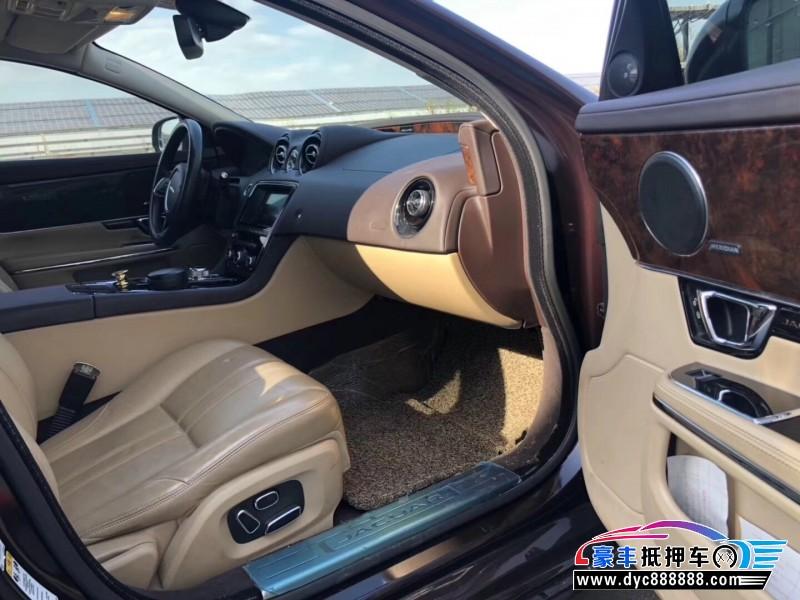 抵押车出售14年捷豹XJ轿车