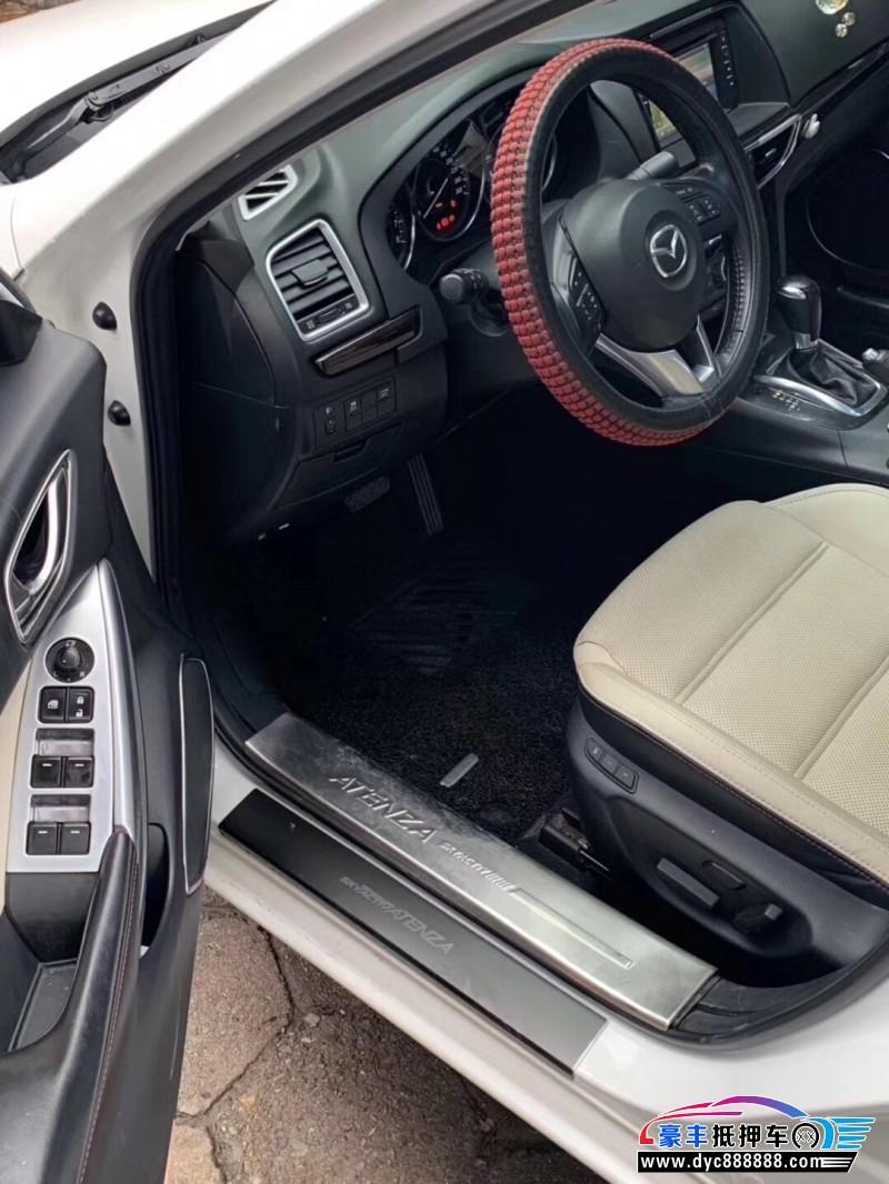 15年马自达阿特兹轿车抵押车出售