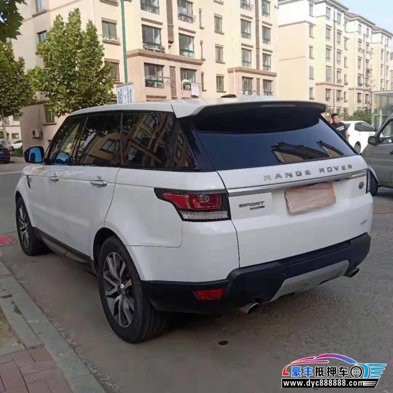 14年路虎揽胜运动SUV抵押车出售