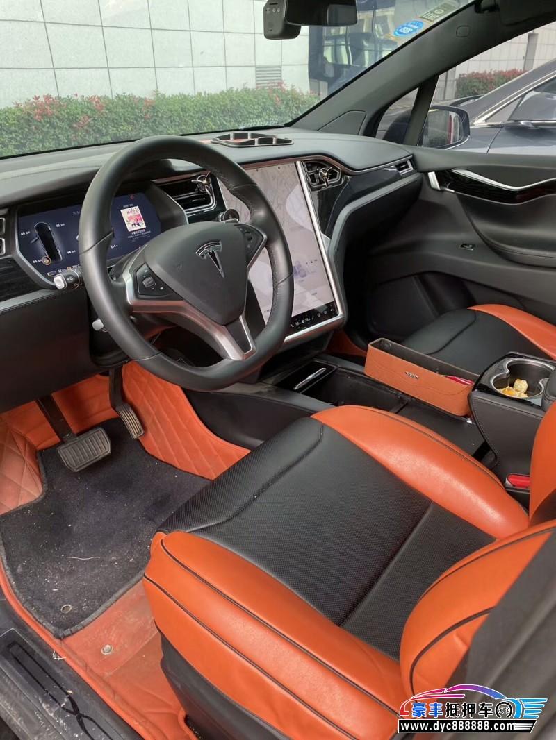 17年特斯拉MODEL X轿车抵押车出售