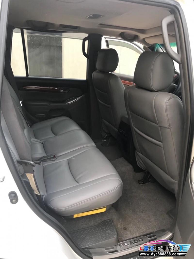 05年丰田普拉多SUV抵押车出售