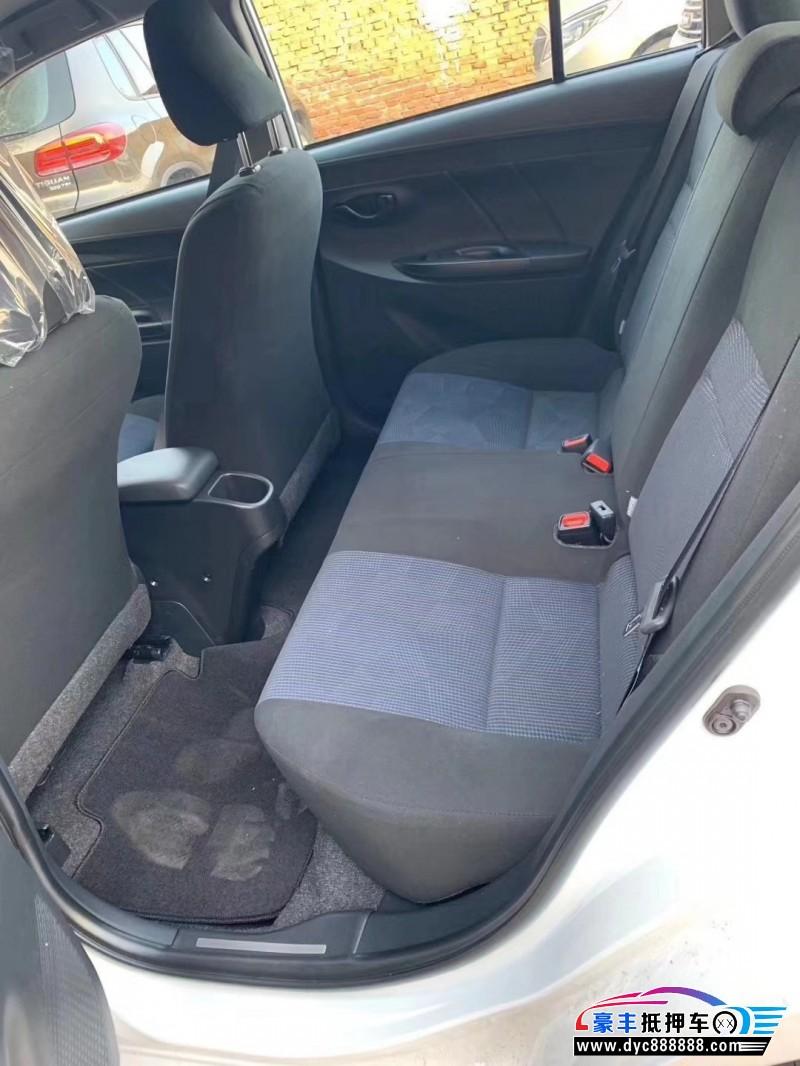 19年丰田YARiS L 致炫SUV抵押车出售