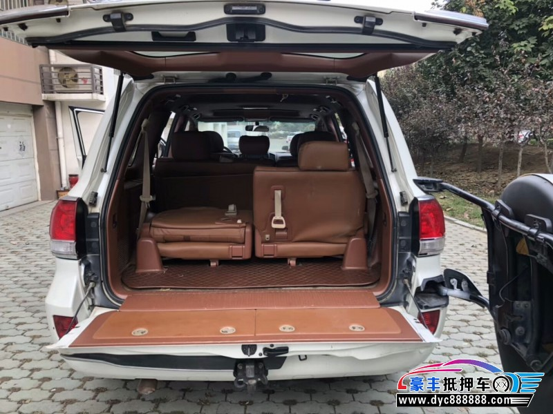 11年丰田陆地巡航舰SUV抵押车出售