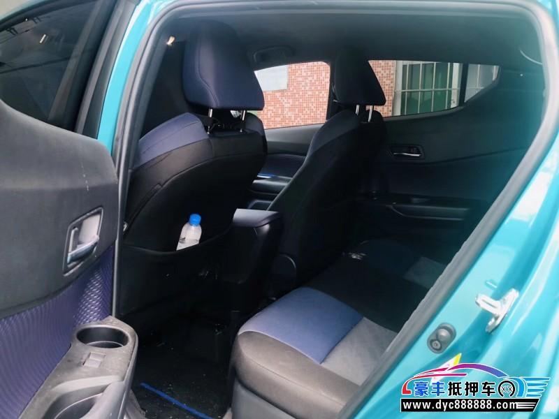 19年丰田C-HRSUV抵押车出售