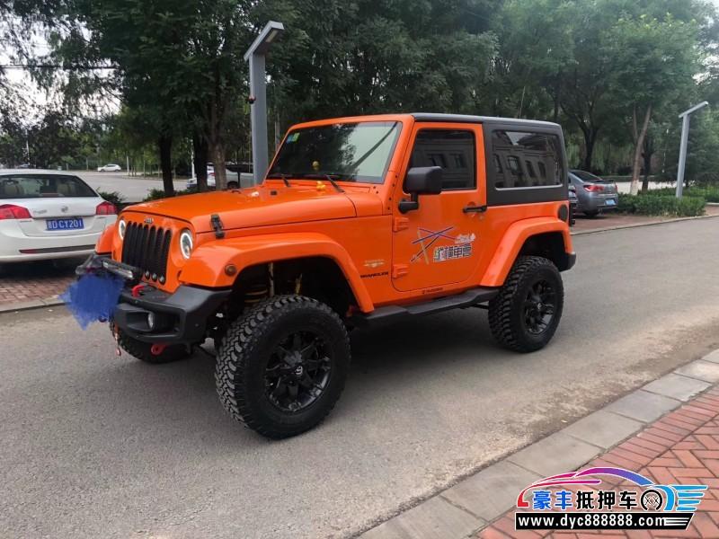 13年Jeep牧马人SUV抵押车出售