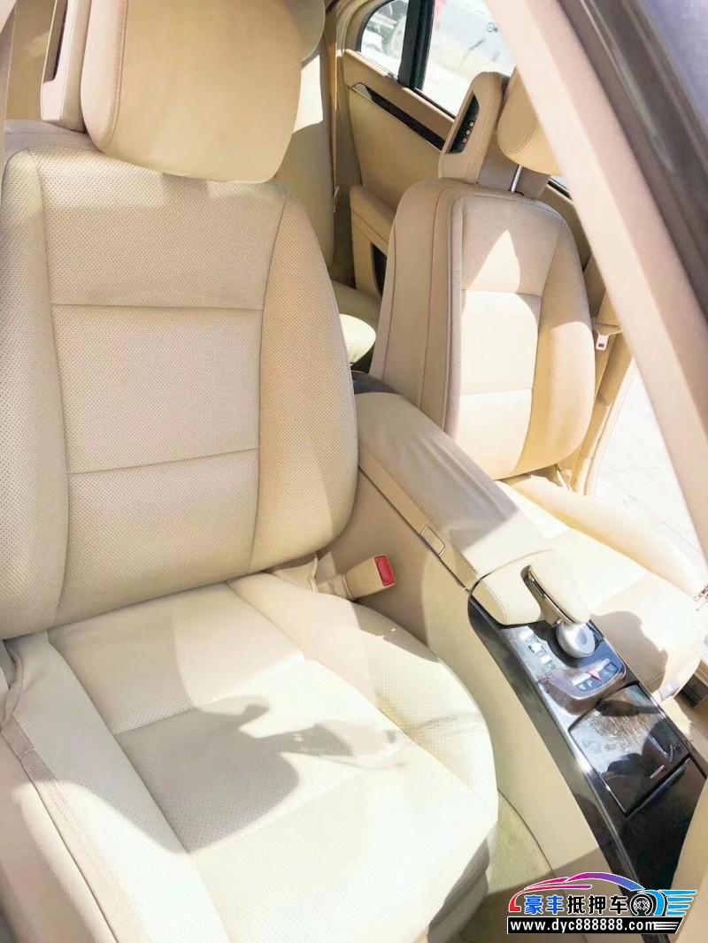 11年奔驰S轿车抵押车出售