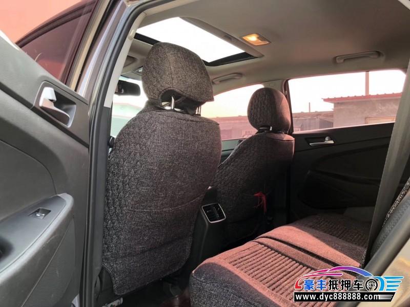 抵押车出售16年现代途胜SUV