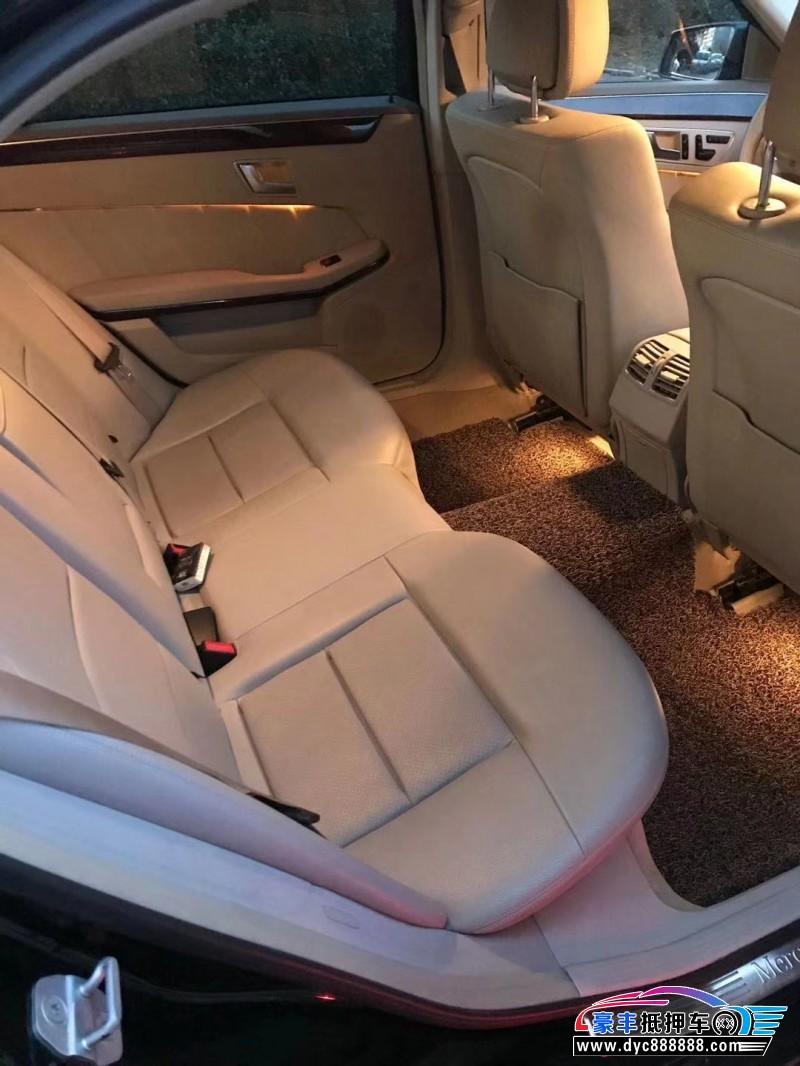 13年奔驰E级(进口)轿车抵押车出售
