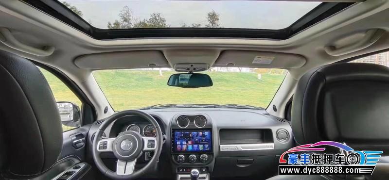 16年Jeep指南者SUV抵押车出售