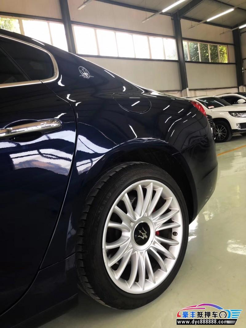 抵押车出售14年玛莎拉蒂总裁跑车