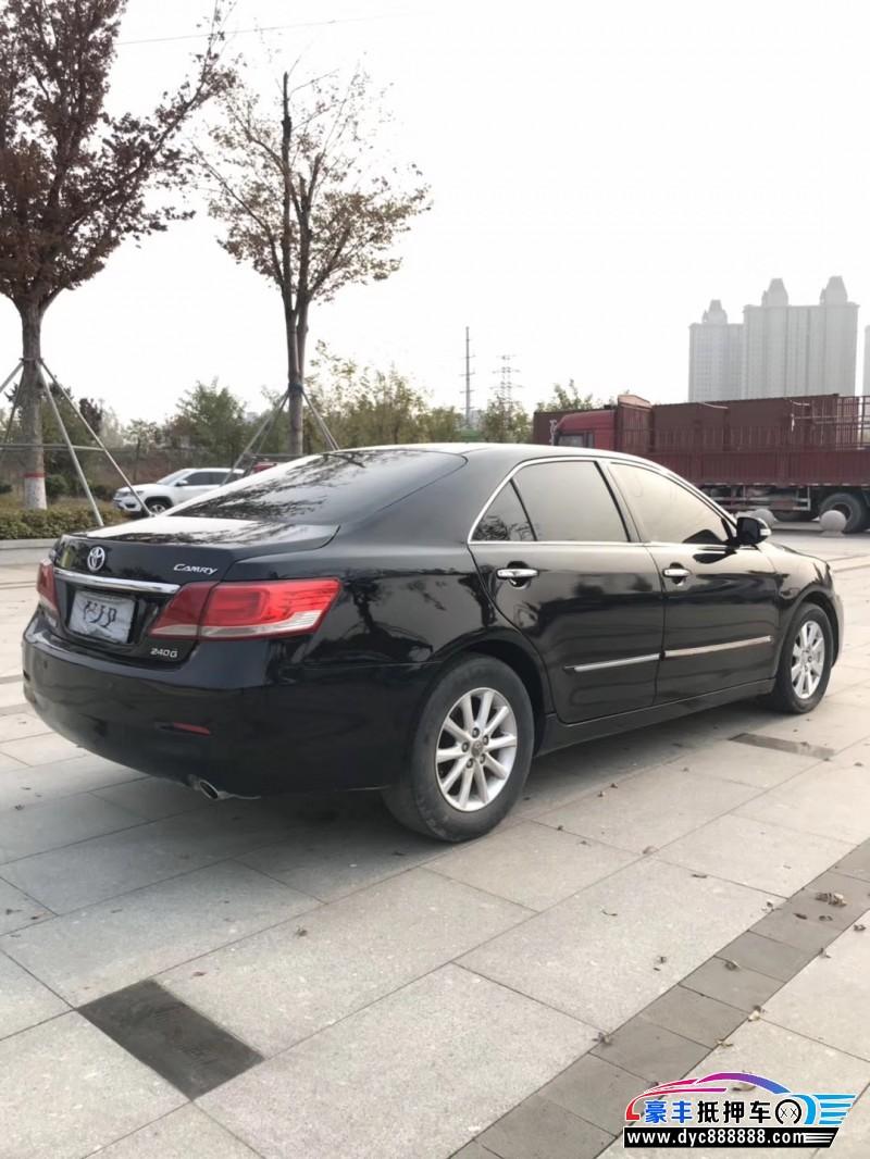 10年丰田凯美瑞轿车抵押车出售
