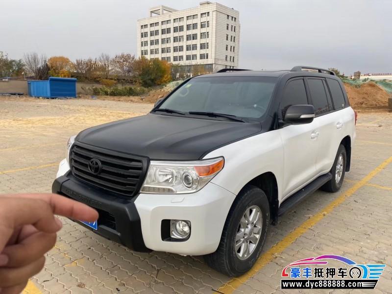 13年丰田兰德酷路泽SUV抵押车出售