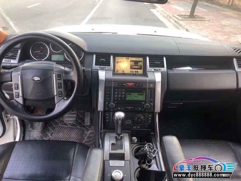 08年路虎揽胜运动SUV抵押车出售