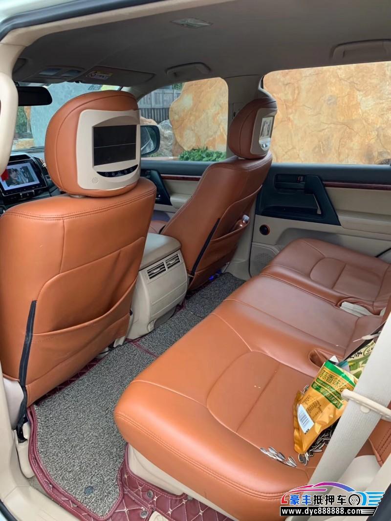 抵押车出售14年丰田兰德酷路泽(进口)SUV