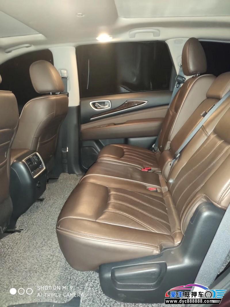 15年英菲尼迪QX60SUV抵押车出售