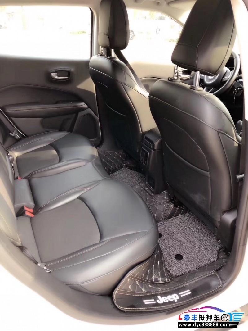 18年Jeep指南者SUV抵押车出售