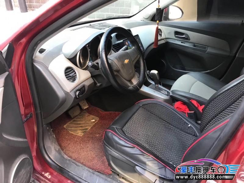 13年雪佛兰科鲁兹轿车抵押车出售