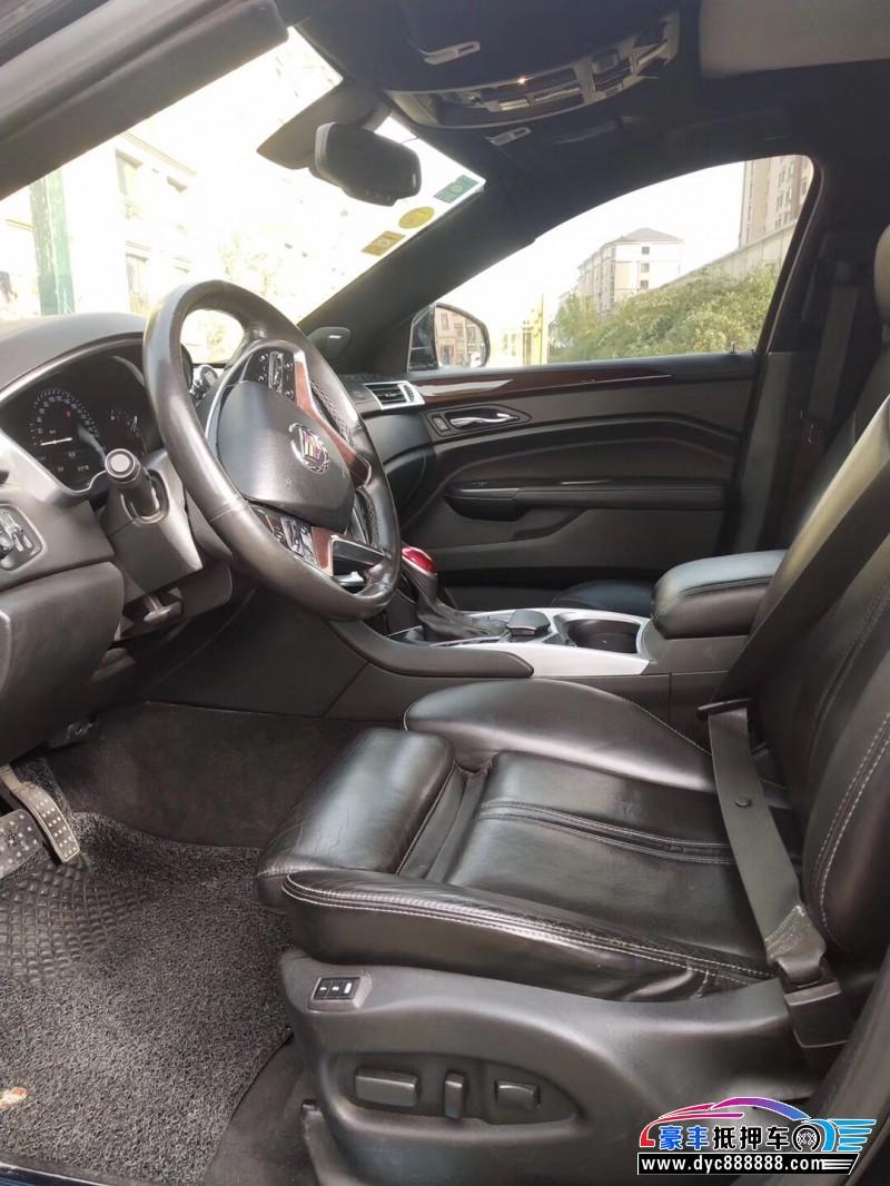 13年凯迪拉克SRXSUV抵押车出售