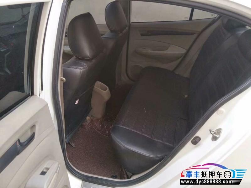09年本田锋范轿车抵押车出售