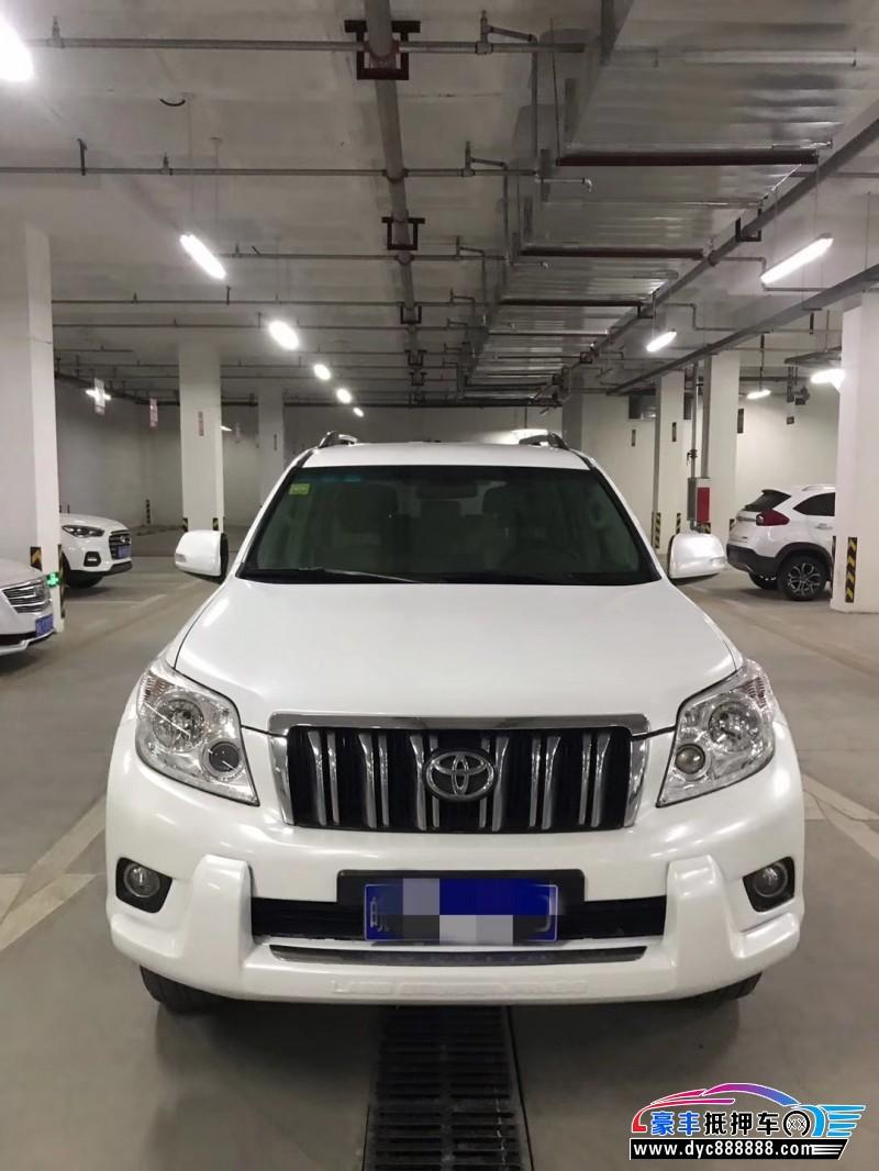 10年丰田普拉多SUV