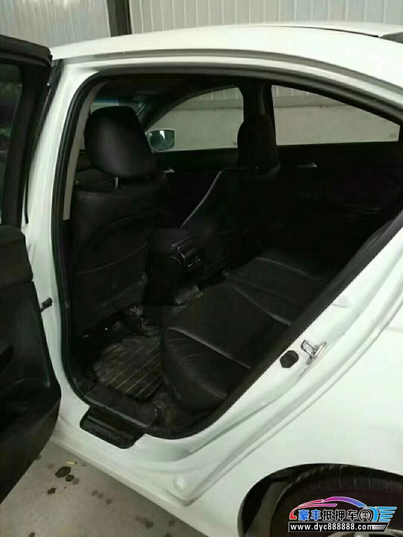 抵押车出售13年本田雅阁轿车