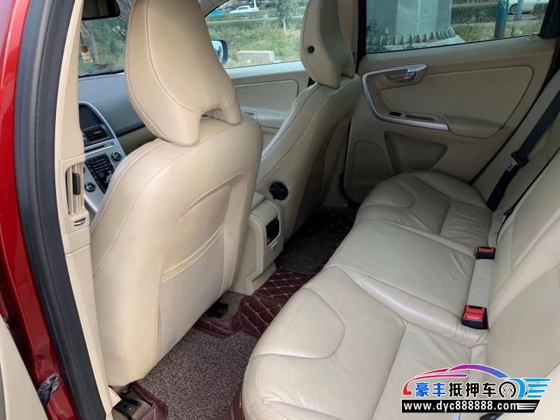 11年沃尔沃XC60轿车抵押车出售