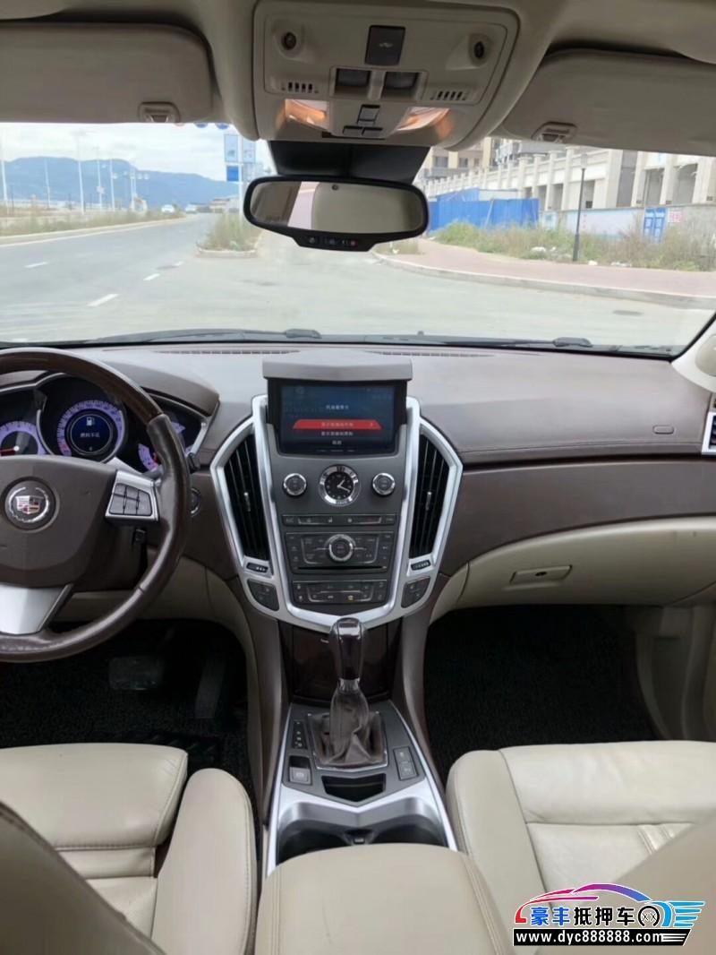 抵押车出售12年凯迪拉克SRX轿车