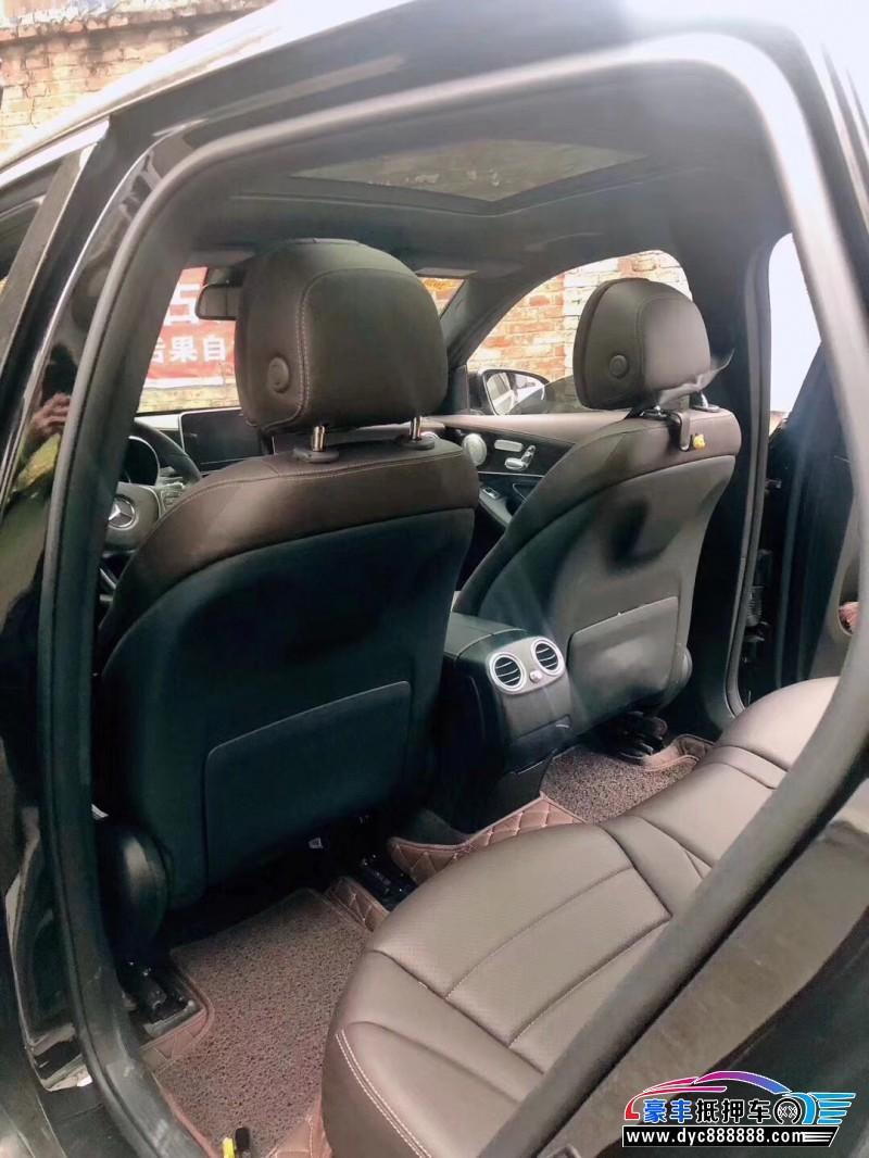 16年奔驰GLCSUV抵押车出售