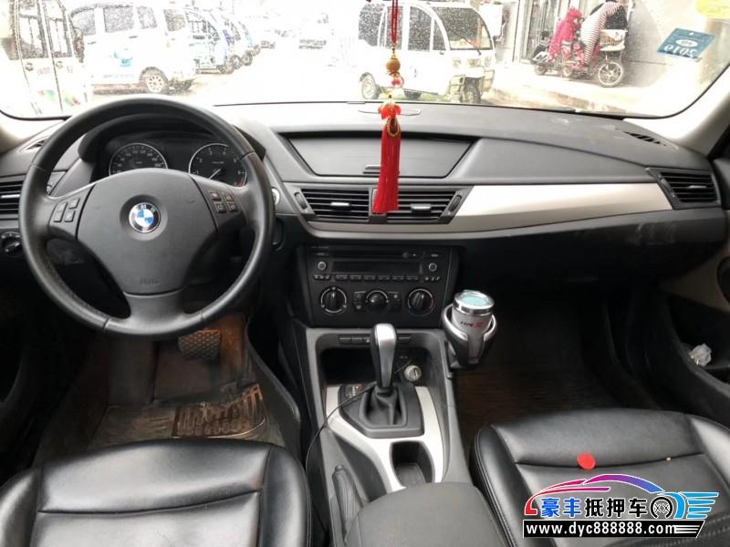 12年宝马X1SUV抵押车出售