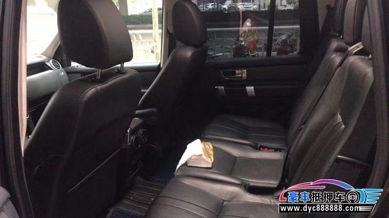 16年路虎发现4SUV抵押车出售
