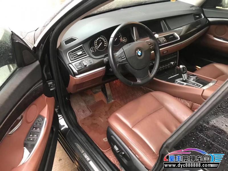 抵押车出售14年宝马5系GT轿车