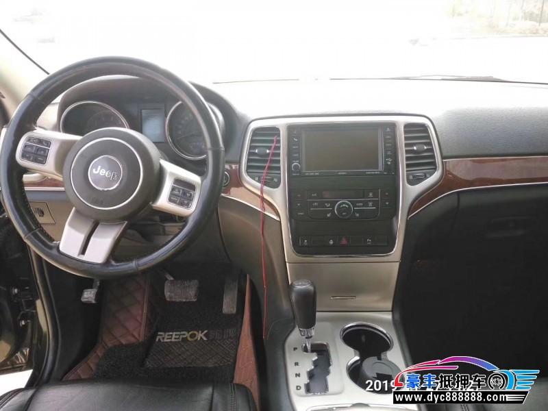 11年Jeep大切诺基SUV抵押车出售