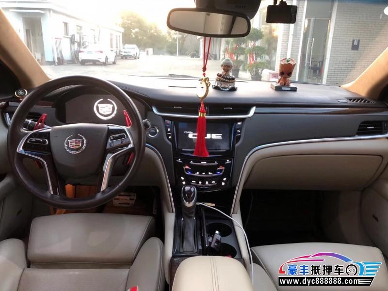 14年凯迪拉克XTS轿车抵押车出售