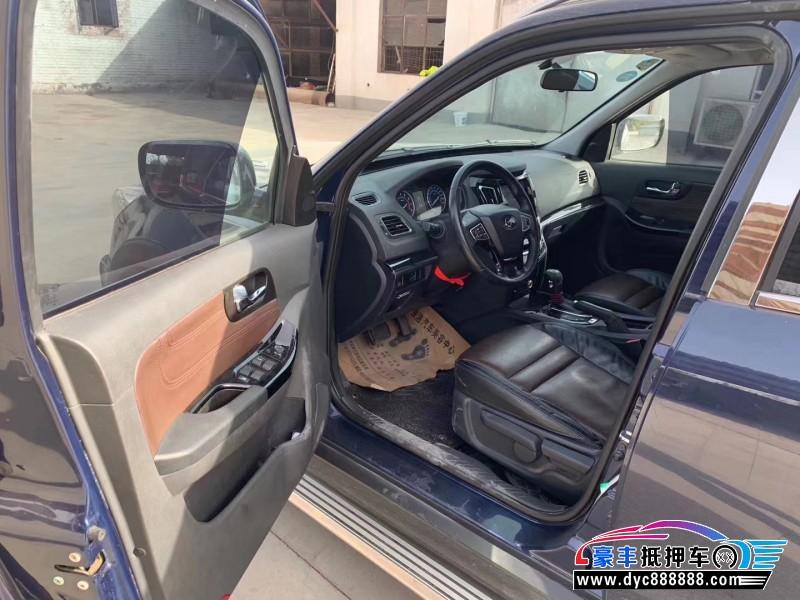 抵押车出售17年海马S7SUV