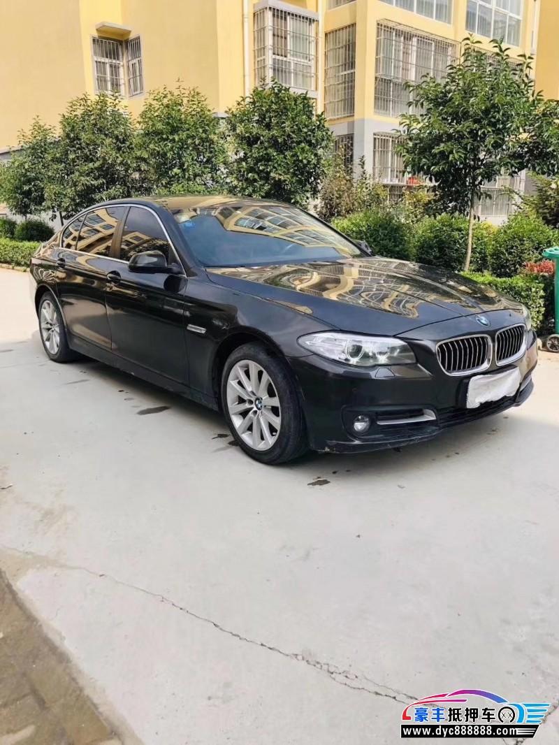 抵押车出售15年宝马5系轿车