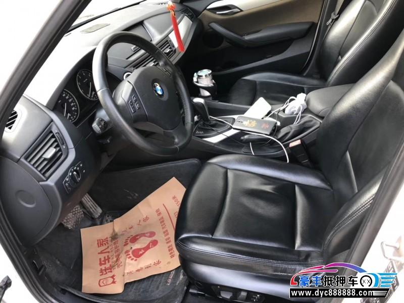 12年宝马X1轿车抵押车出售