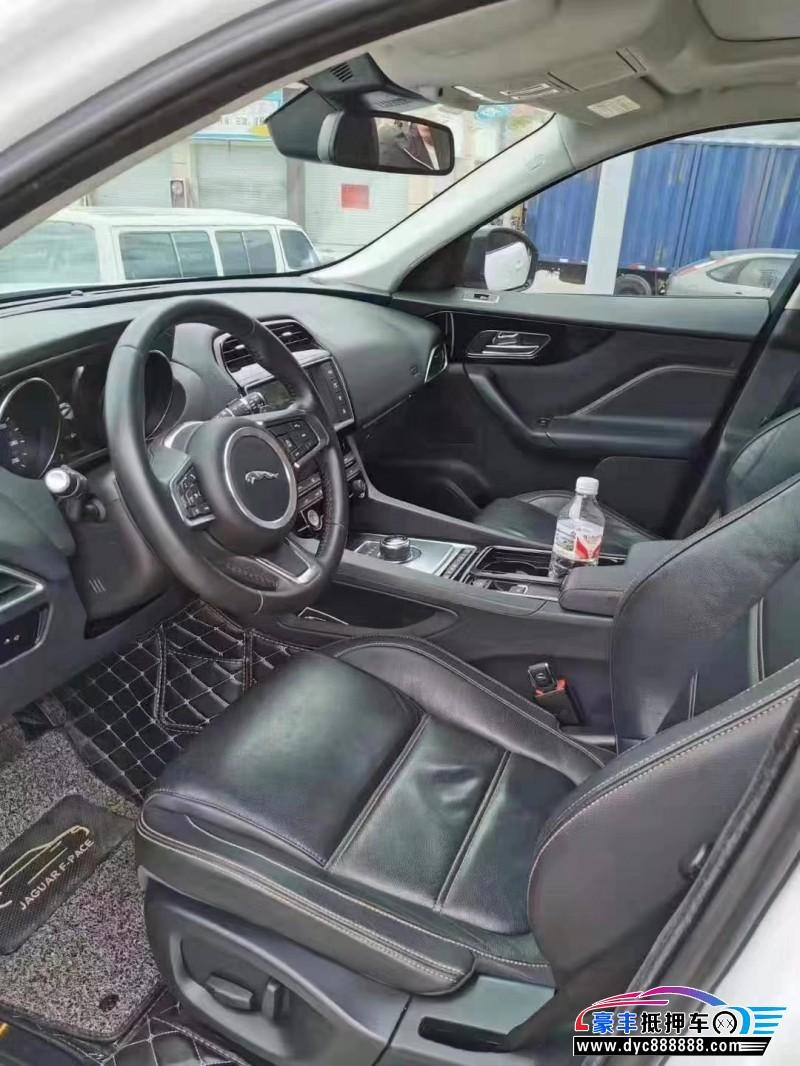 抵押车出售17年捷豹F-PACESUV