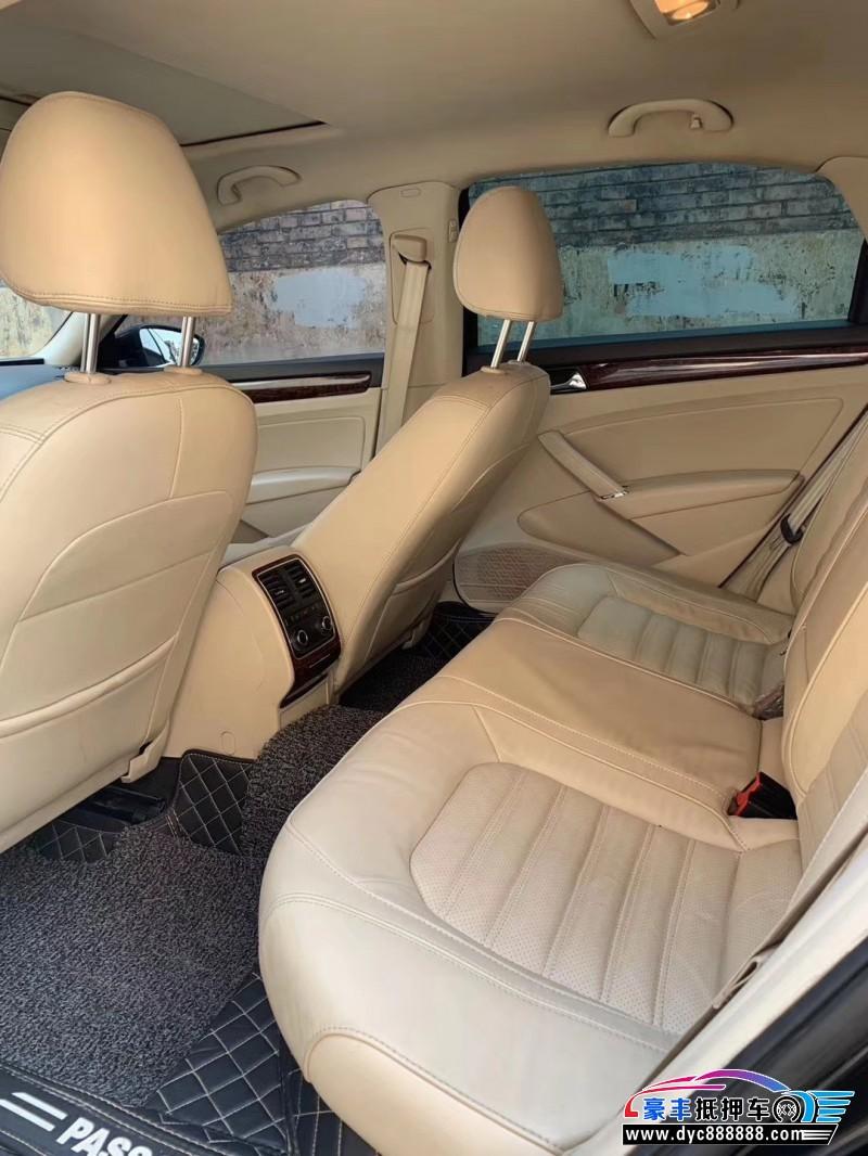 13年大众帕萨特轿车抵押车出售