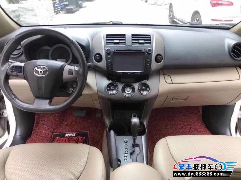 11年丰田RAV4SUV抵押车出售