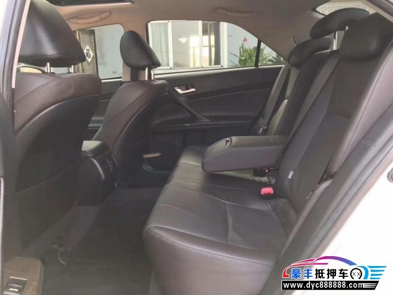 16年丰田锐志轿车抵押车出售