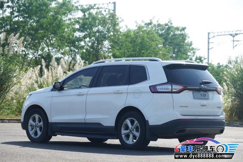 17年福特锐界SUV抵押车出售