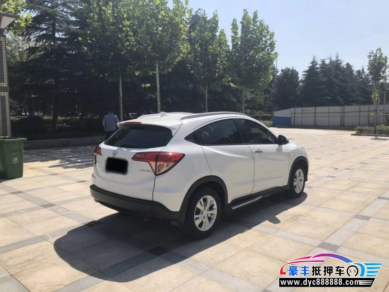 19年本田缤智SUV抵押车出售