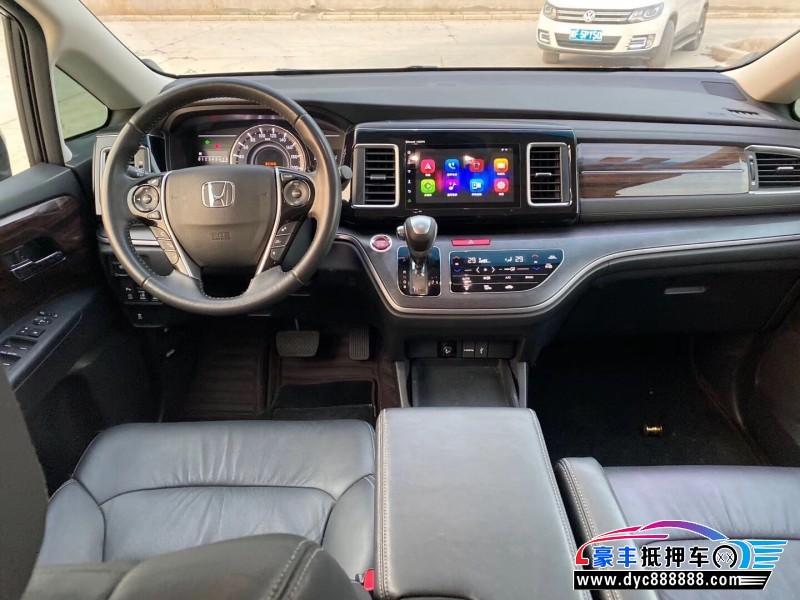 16年本田艾力绅MPV抵押车出售