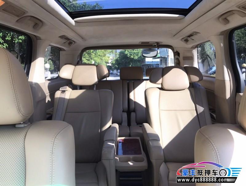 10年丰田埃尔法MPV抵押车出售