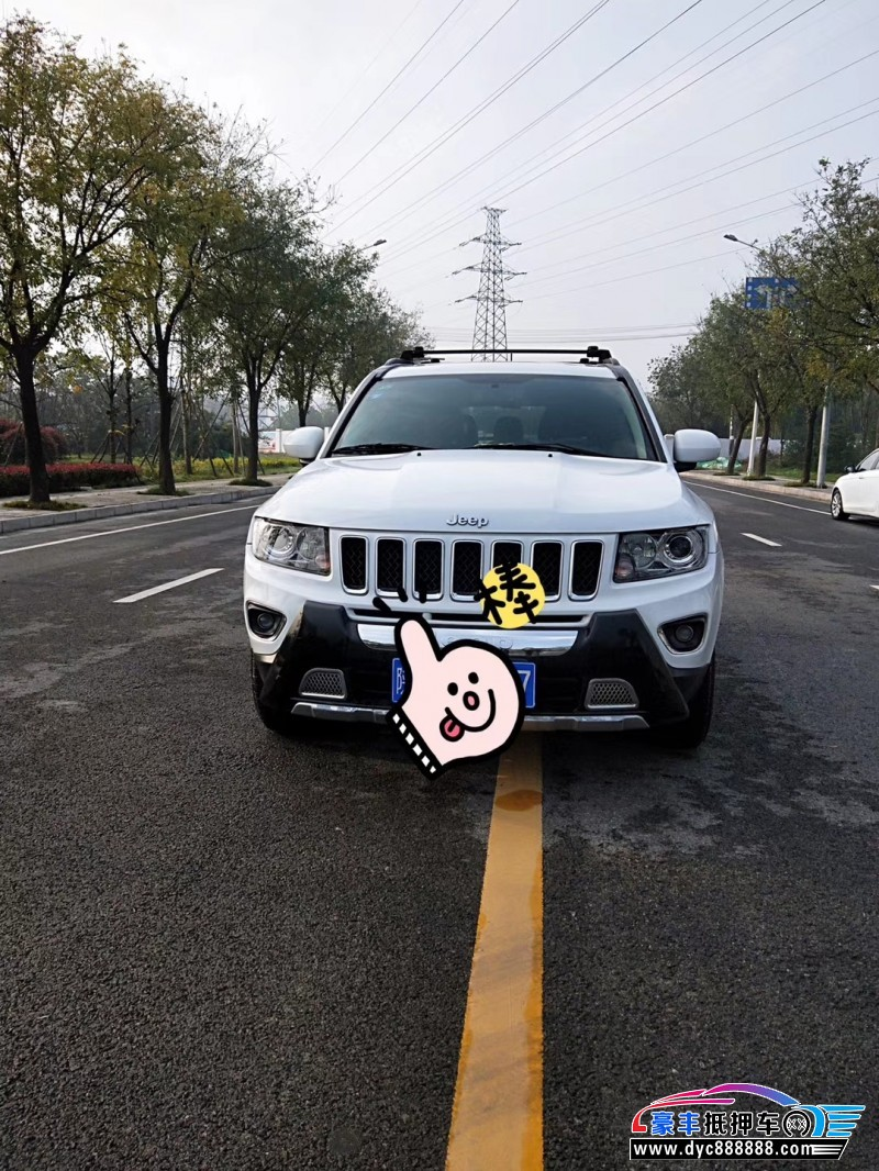 15年Jeep指南者SUV抵押车出售