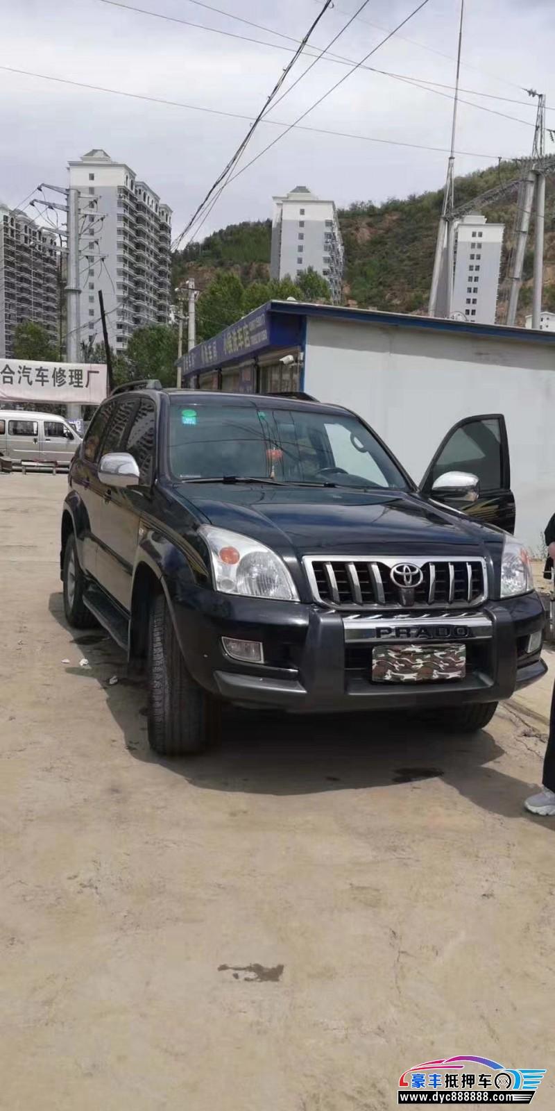 09年丰田普拉多SUV抵押车出售