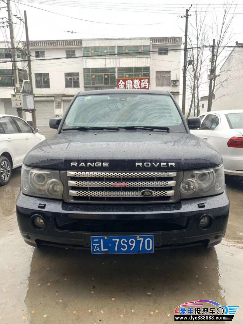 抵押车出售07年路虎揽胜运动SUV